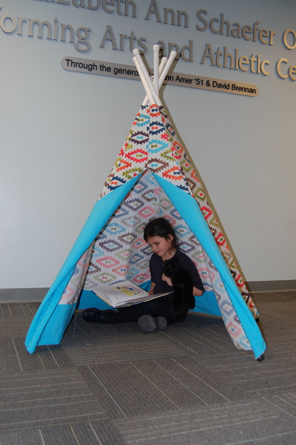 Witness the priceless expression on your child or grandchild's face when you give them their very own portable cloth teepee tent. If you're looking for the ultimate present for any child, this tent will win their hearts and creative attention for years of playtime.