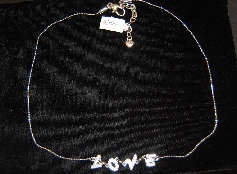 The perfect gift for your sweetie right around Valentine's Day. This Brighton necklace was donated by Patty Buschko.