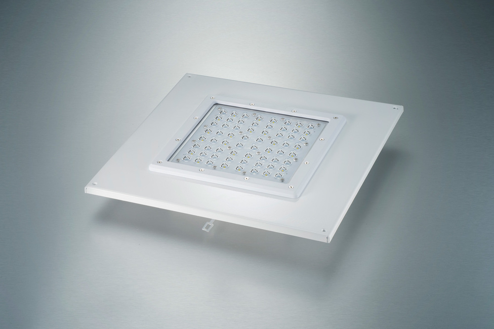 LED Recessed Canopy Fixture