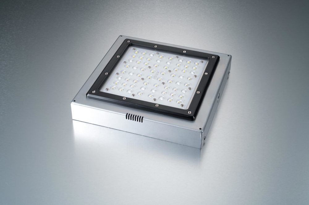 LED Low Profile Garage Fixture