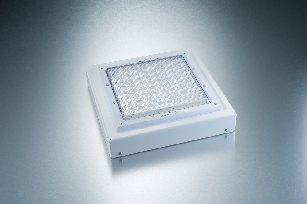 LED Low Glare Canopy Fixture