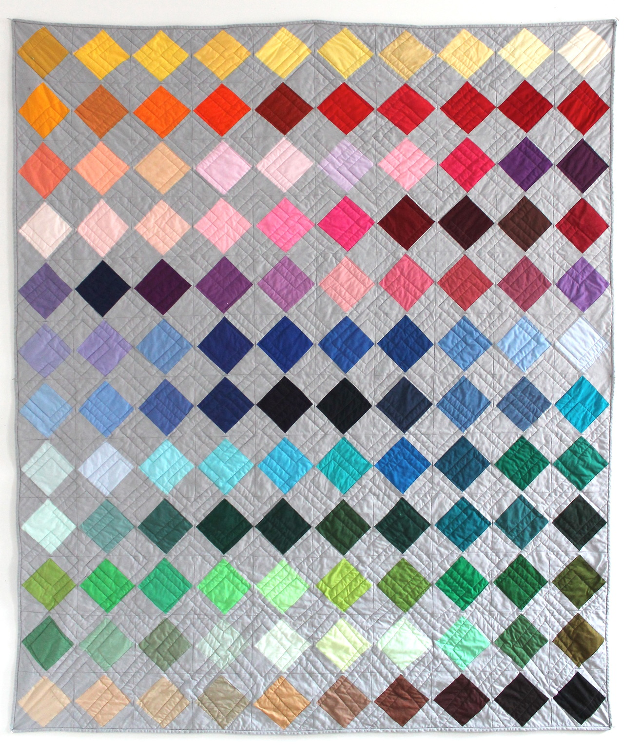 "Box of Crayons Quilt - 63"" x 76"""