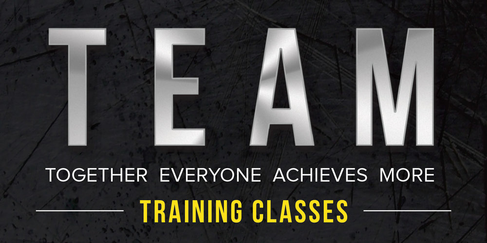 Team Training Classes. Together Everyone Achieves More