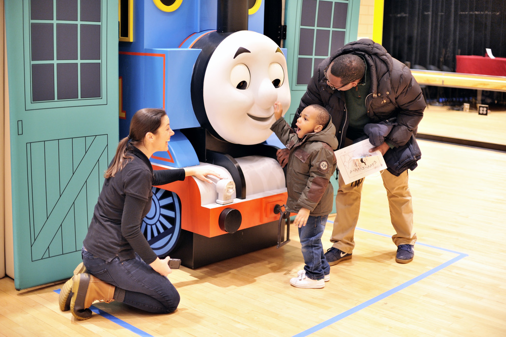 Little engineers meeting Thomas the Tank Engine WNET, New York Public Media, and Autism Friendly Spaces are hosting a free autism-friendly event at UNION COUNTY PERFORMING ARTS CENTER i