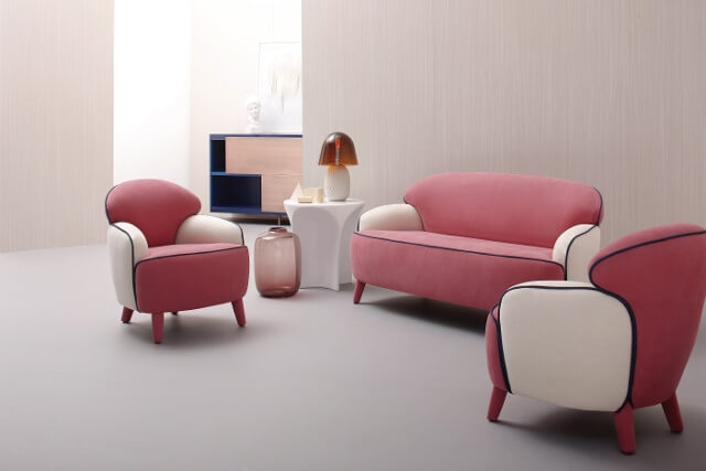 Polpetta sofás diseño italiano