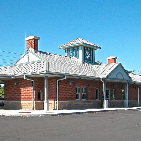 Mansfield Commuter Rail Station
