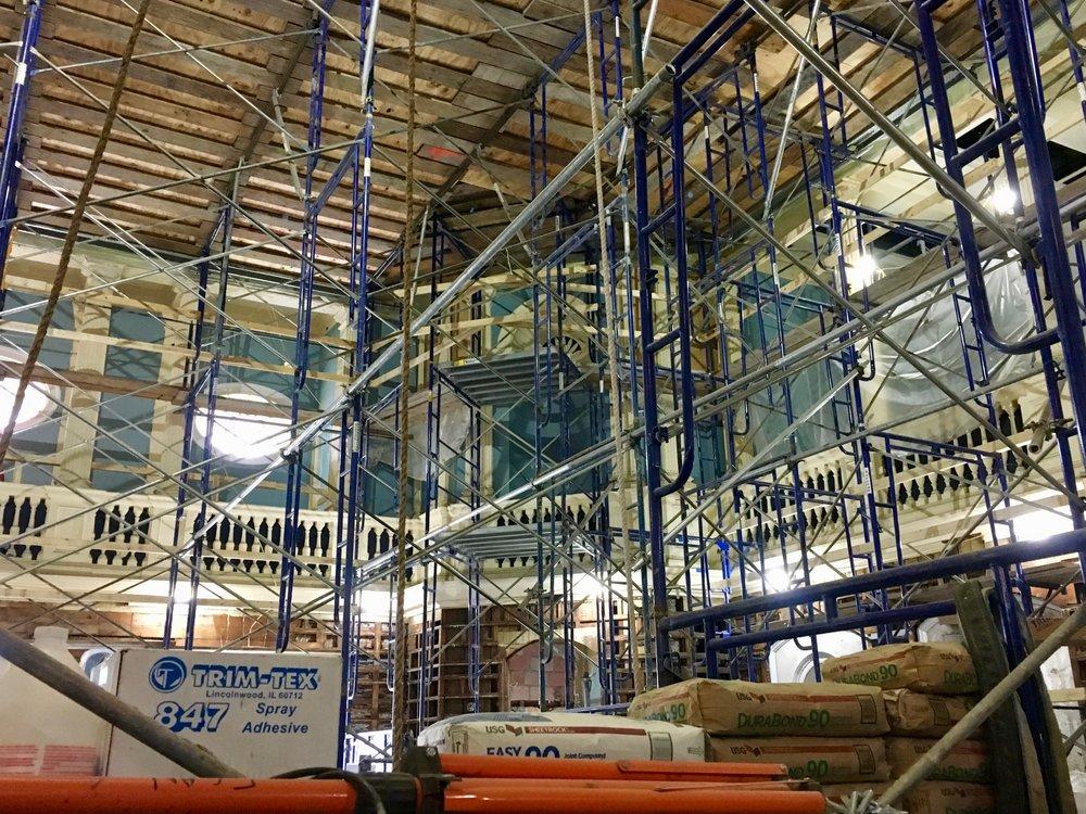 State House Senate Chamber Renovations