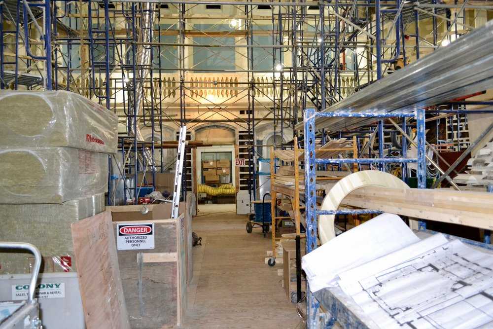 State House Senate Chamber Renovation