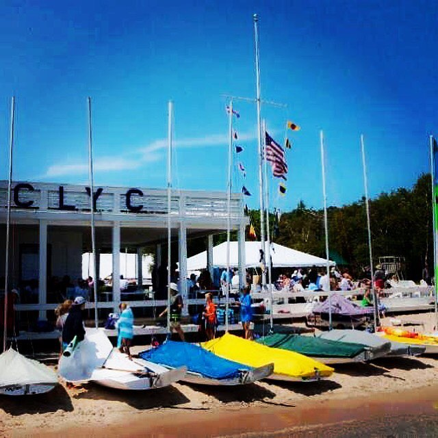 The 2018 CLYC season starts now! Looking forward to a great summer. Sail fast! #clyc