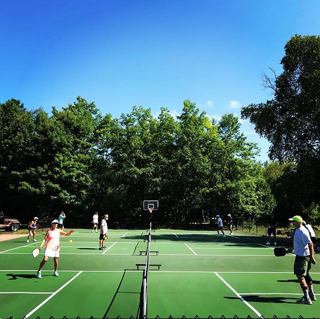 Sunday morning vibes. #pickleballrocks #clyc
