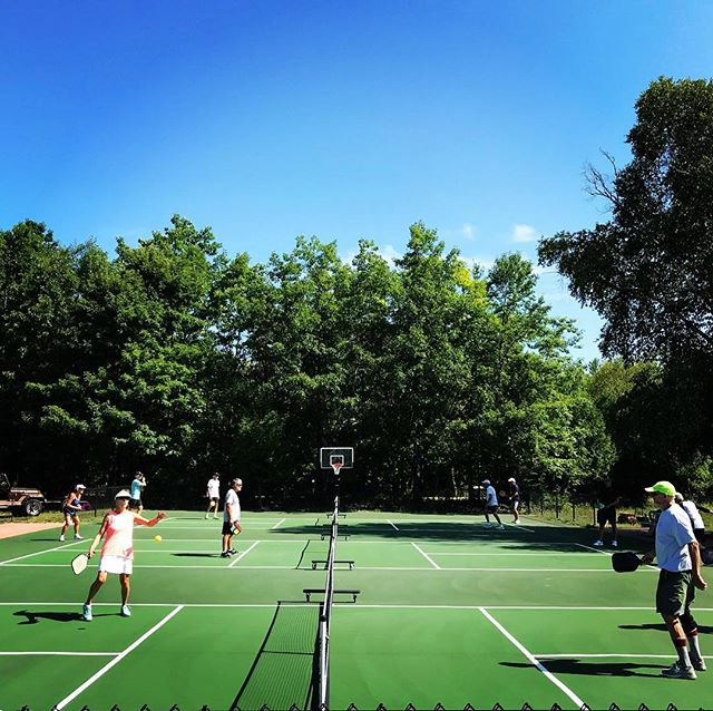 Sunday Funday! Join us today for Pickleball Open Play Happy Hour. 5pm. BYOB and a snack. All are welcome!