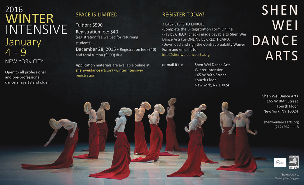 2016 Winter Intensive e-flyer
