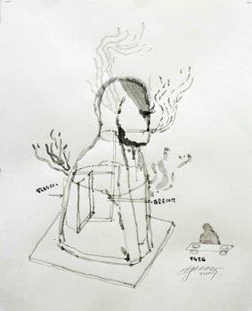 Zhang Huan - Smoking Buddha.jpg