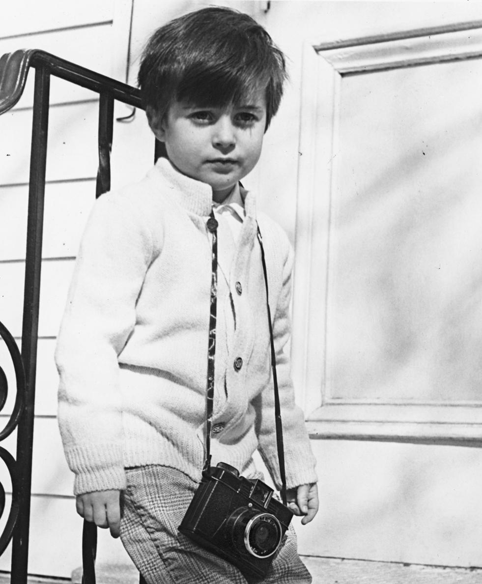 Robert's first camera © Barbara Carson