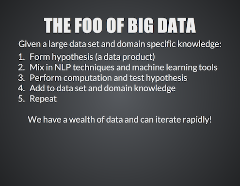 NLP of Big Data using NLTK and Hadoop11