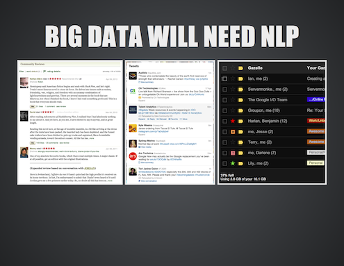 NLP of Big Data using NLTK and Hadoop7
