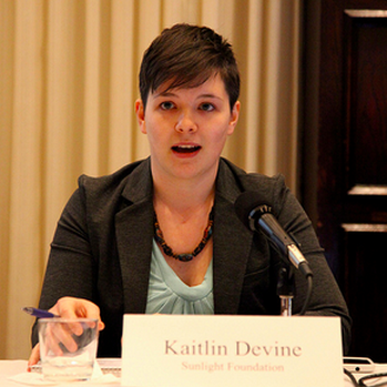 Kaitlin Devine, former Sunlight software developer