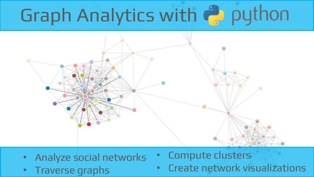 Graph Analytics with Python Workshop on March 12th — Data Community DC