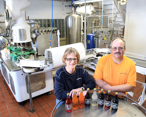 Dawn and Bob Hansen of Spring Grove Soda Pop.