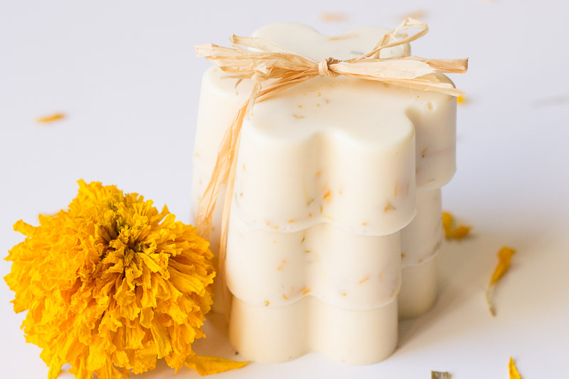MARIGOLD AND HONEY SOAPS