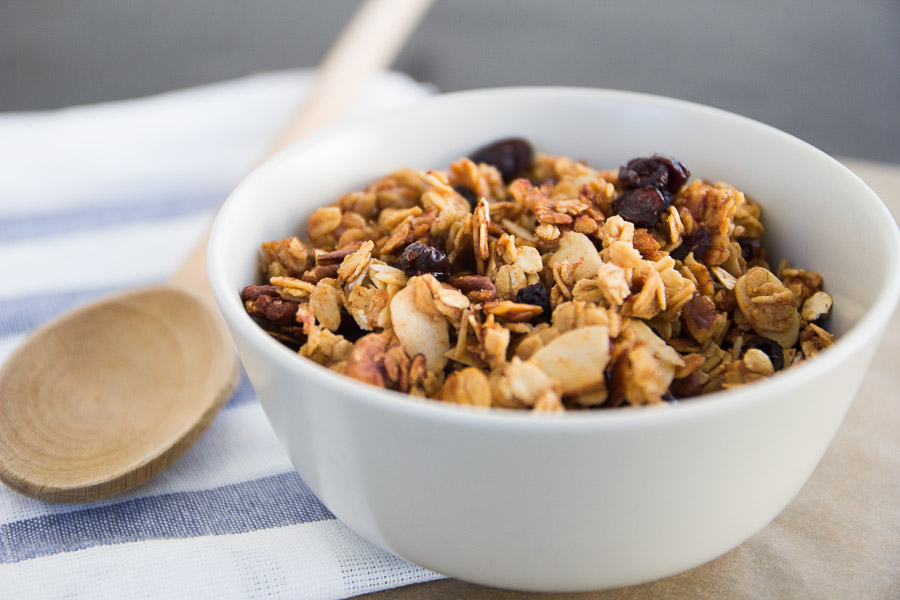 Berry Banana Nut Granola