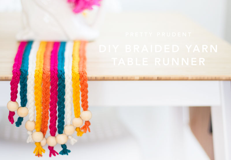 Braided Yarn Table Runner
