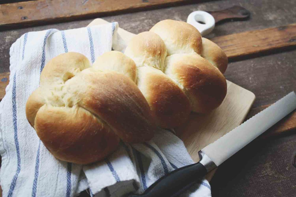 A reference for how my braided bread looked!