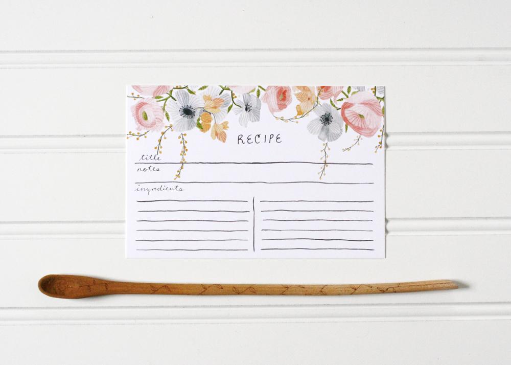 floral-recipe-card