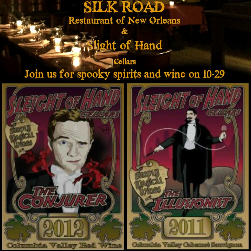 Silk Road Restaurant of New Orleans free wine tasting