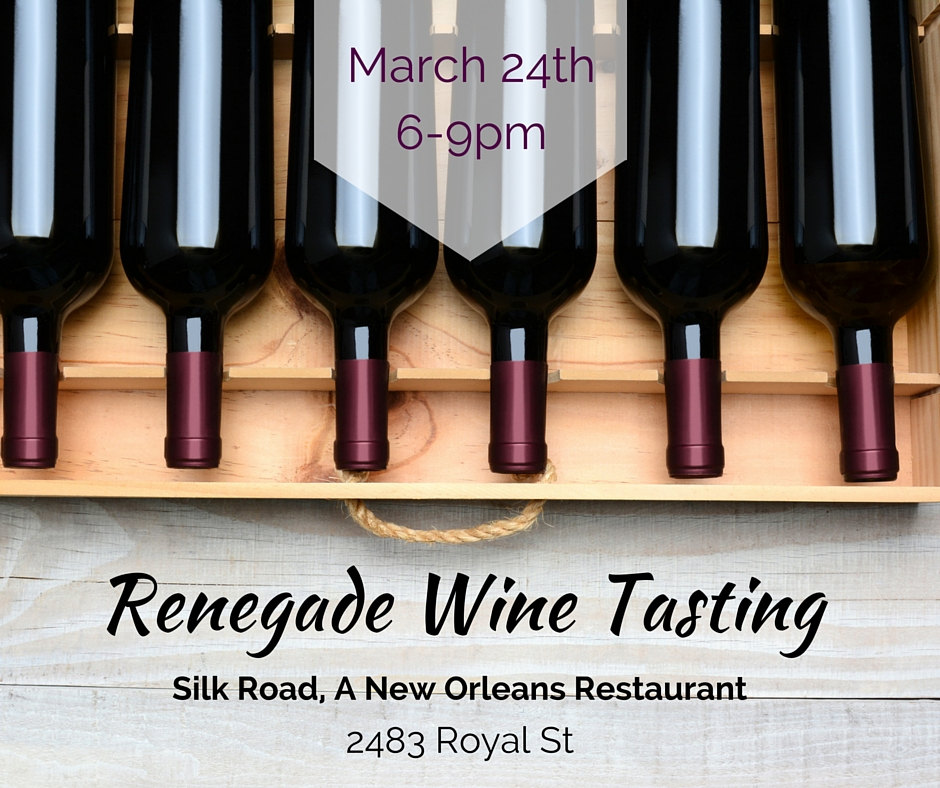silk road new orleans restaurant wine tasting