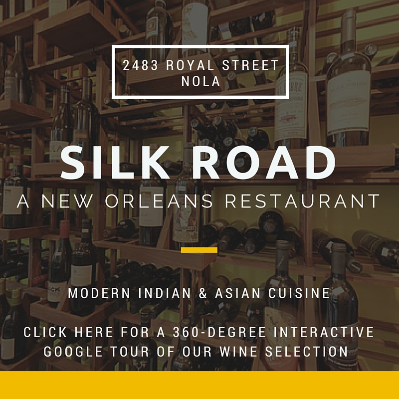 silk road a new orleans asian and indian restaurant wine merchant