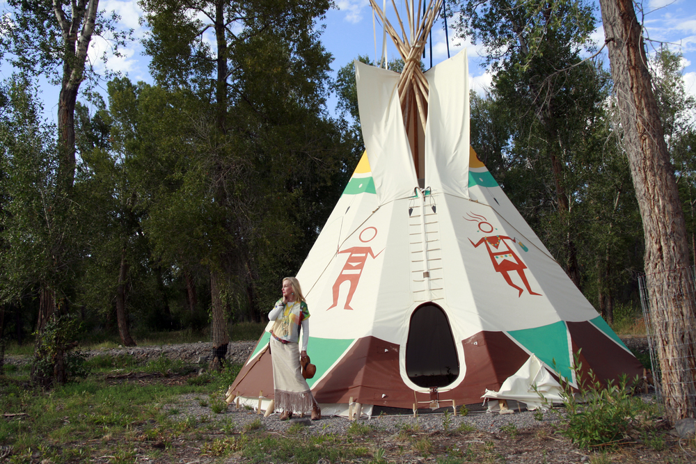 OUR VERY OWN TIPI