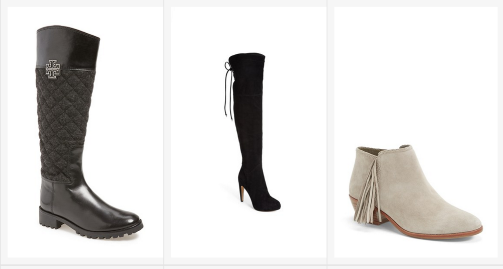 ….NORDSTROM…SALE….BOOTS AND BOOTIES…