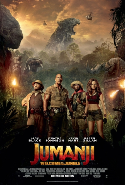 """Jumanji Jumanji"" by Jack Black & Nick Jonas 