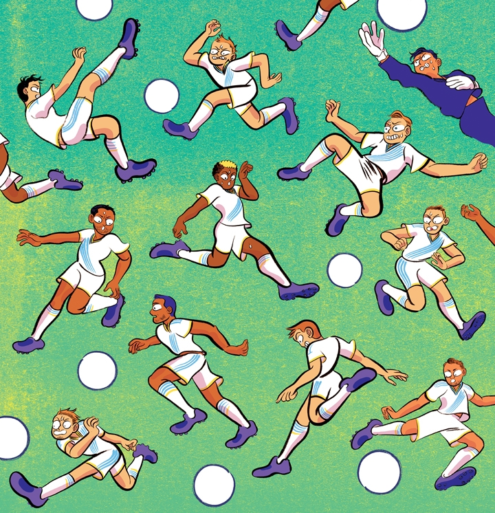 poster image for the LA Galaxy soccer team