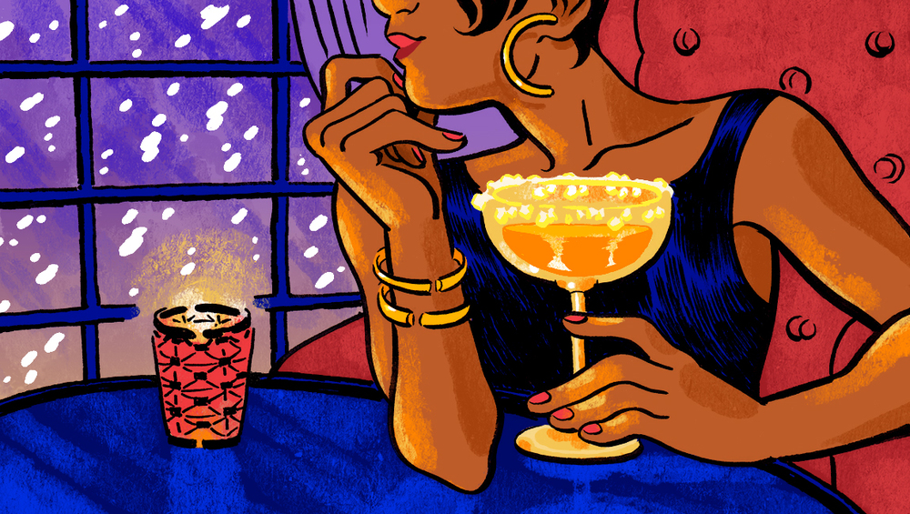 bartab illustration for  The New Yorker