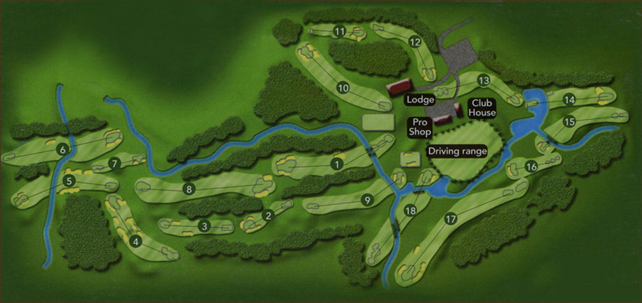 Kokanee Springs Course Information