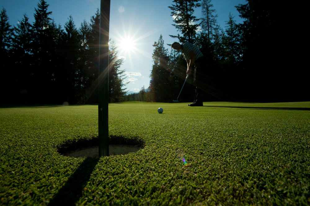 Private Golf Lessons at Kokanee Springs