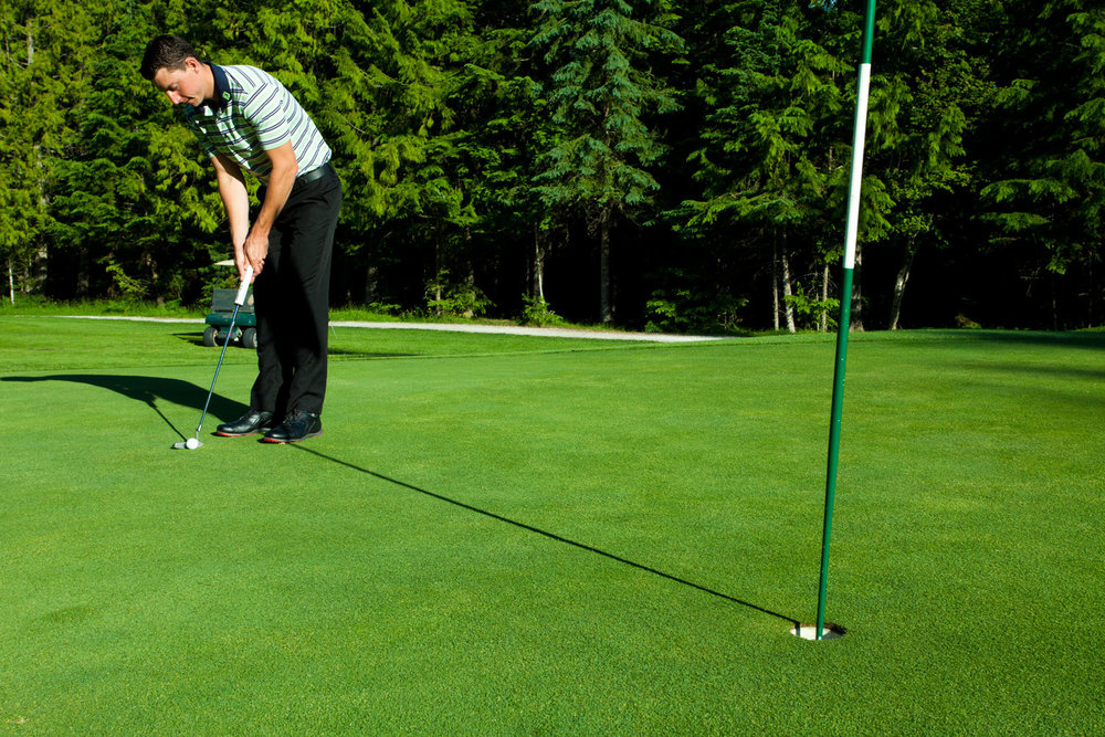 Golf Lessons at Kokanee Springs Resort