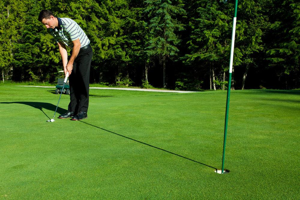 Golf Lessons at Kokanee Springs Resort