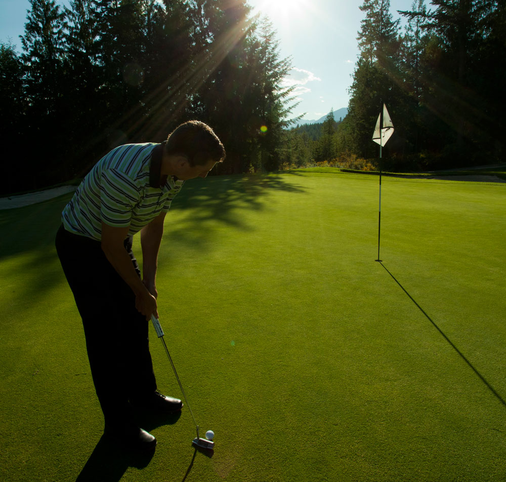 Golf Lessons at Kokanee Springs