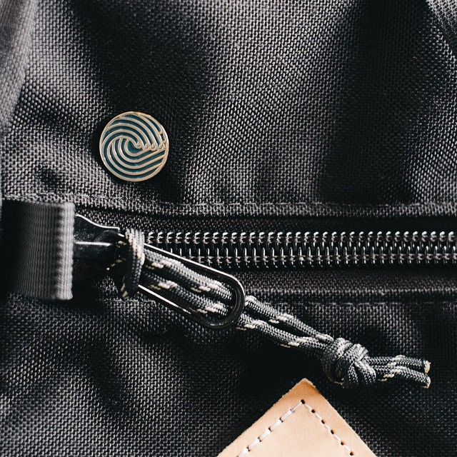 The perfect flare for any bag or pack. #keepsliding #lapelpin