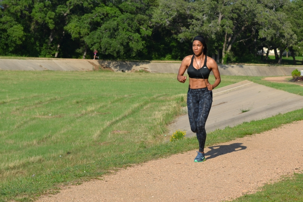 Running on your neighborhood walking trail can give you a sense of freedom.
