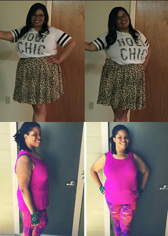 LOOK AT THE SUCCESS THIS DETOX PARTICIPANT HAD! WHAT A DIFFERENCE!!! SHE DID THAT!!!