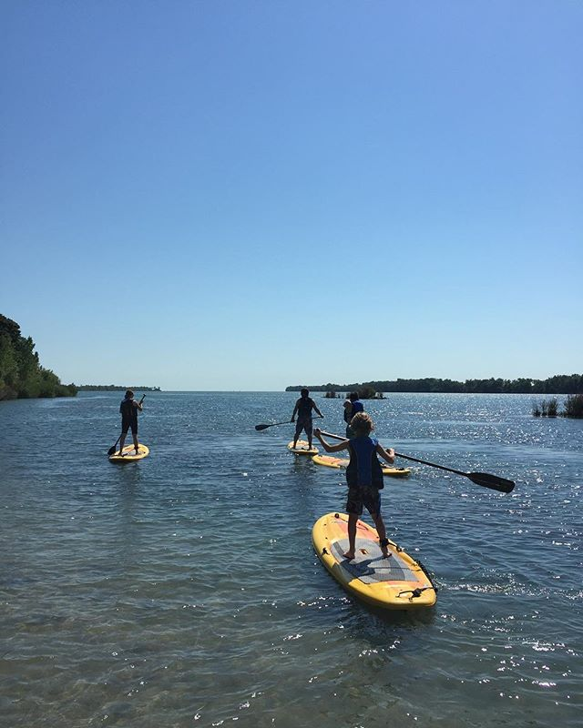 GIVEAWAY: 4 free paddleboard rentals ($80 value)  All you have to do is follow: @sbwatersports and tag your 3 paddle buddies in the comments!  Winner will be picked June 20th!