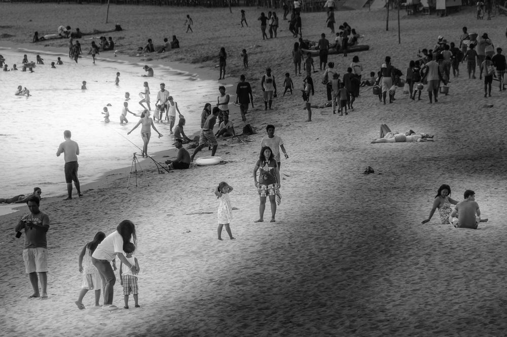 White Beach Mindoro Philippines - Philippinen