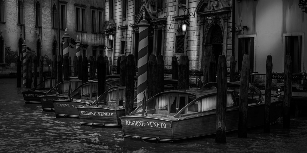 Speedboats In Venice