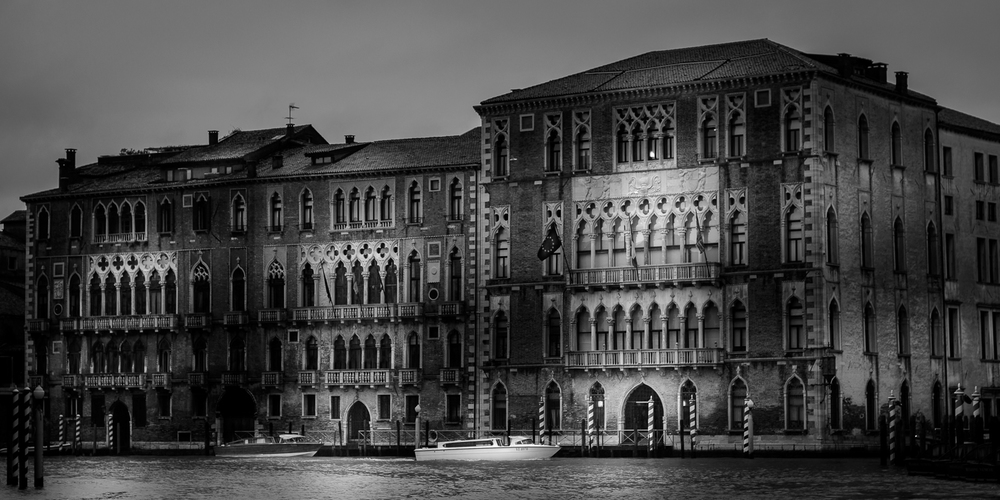 Venetian Palazzo At The Canal Grande
