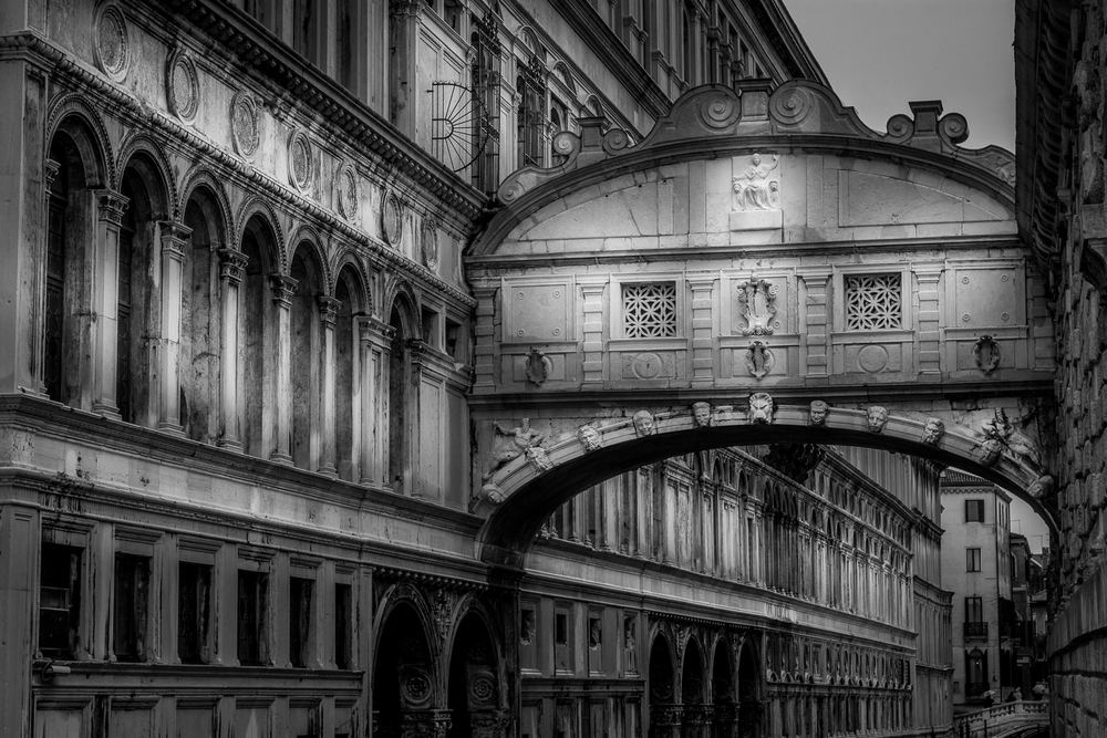 The Bridge Of Sighs Venice