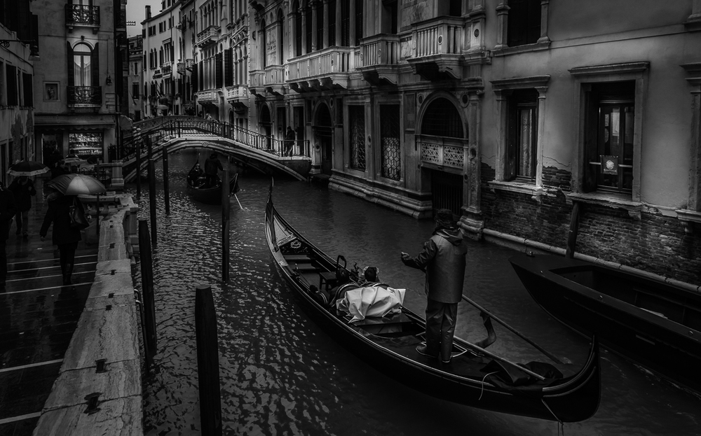 A Rainy Winter Day In Venice